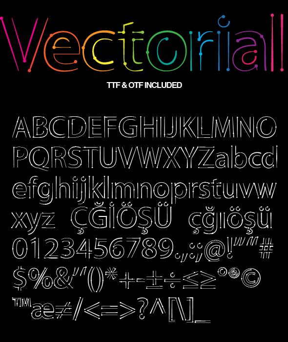 Vectorial Design Font