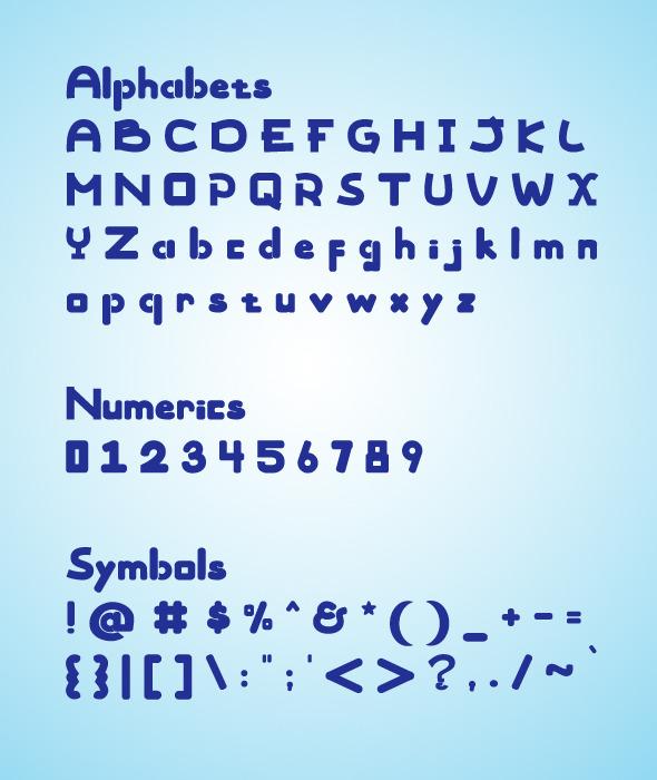 Rounded ABC - Sans-Serif Fonts