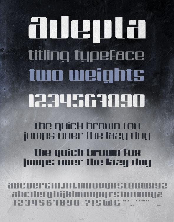 Adepta - Miscellaneous Sans-Serif