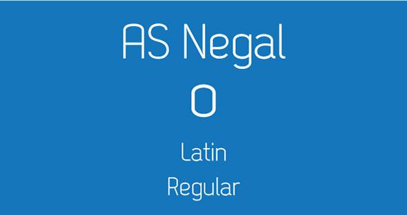AS Negal - Sans-Serif Fonts