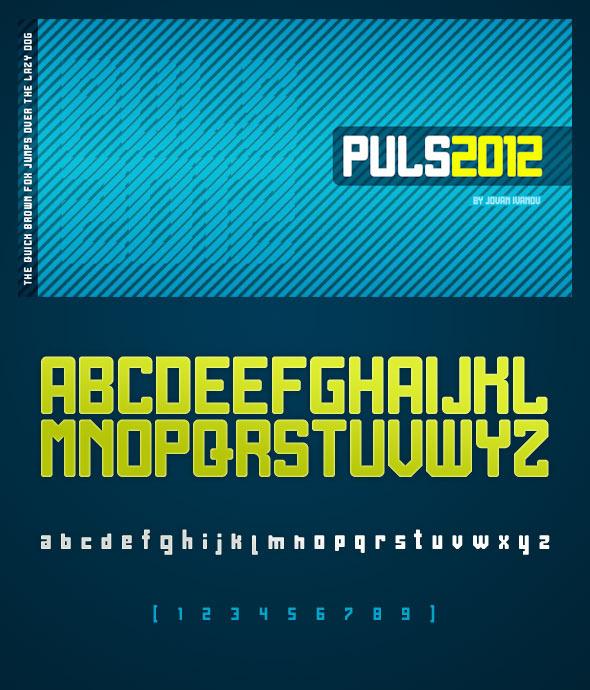 Puls 2012 - Sans-Serif Fonts