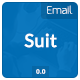 Suit Email Template - GraphicRiver Item for Sale