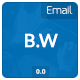 B.W Email Template - GraphicRiver Item for Sale