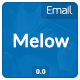 Melow Email Template - GraphicRiver Item for Sale