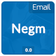 Negm Email Template - GraphicRiver Item for Sale