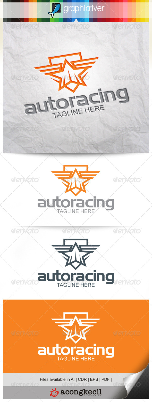 GraphicRiver Auto Racing V.2 8520005