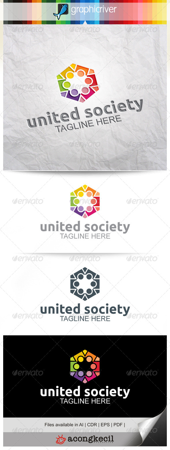 GraphicRiver United Society V.2 8520021