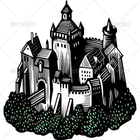 GraphicRiver Castle 8520023