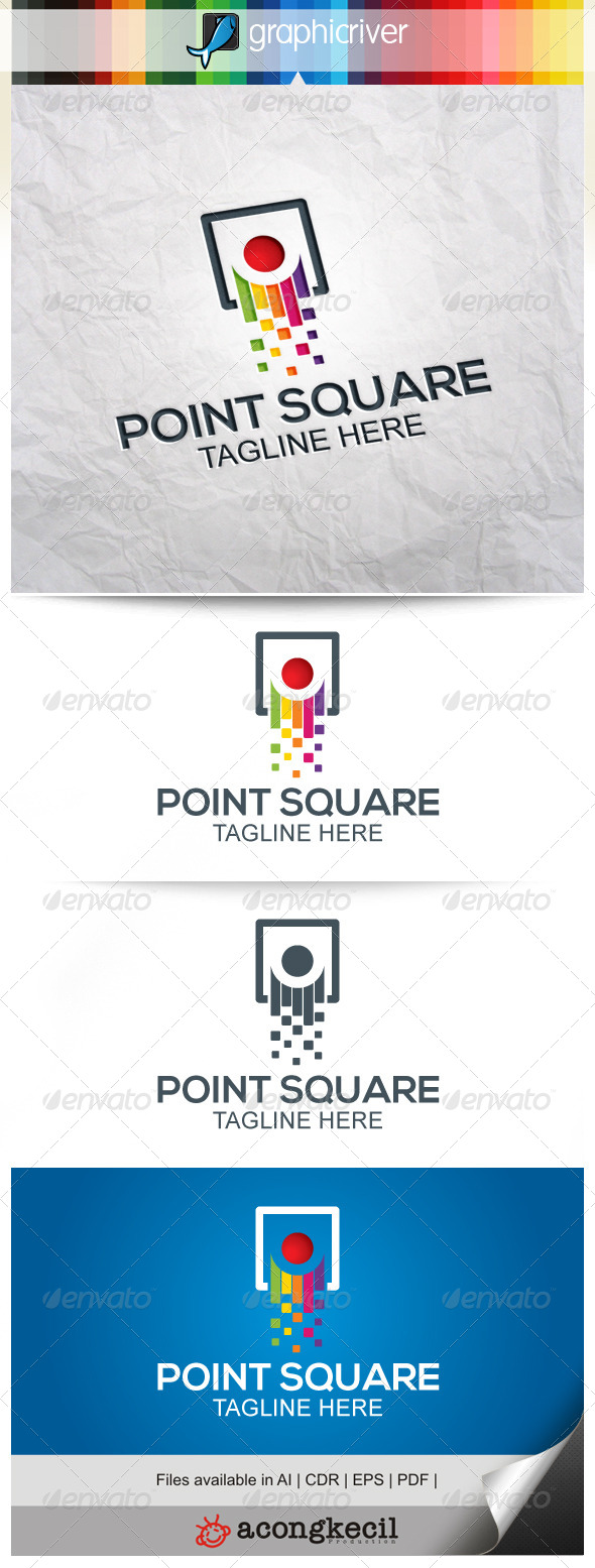 GraphicRiver Point Square 8520038