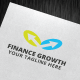 Finance Growth Logo Template - GraphicRiver Item for Sale