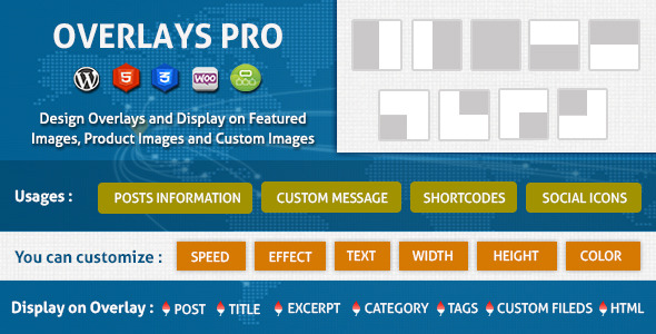 CodeCanyon Overlays Over Images Wordpress Plugin 8520201