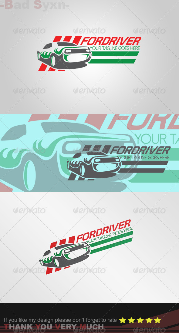 Fordriver Logo Template
