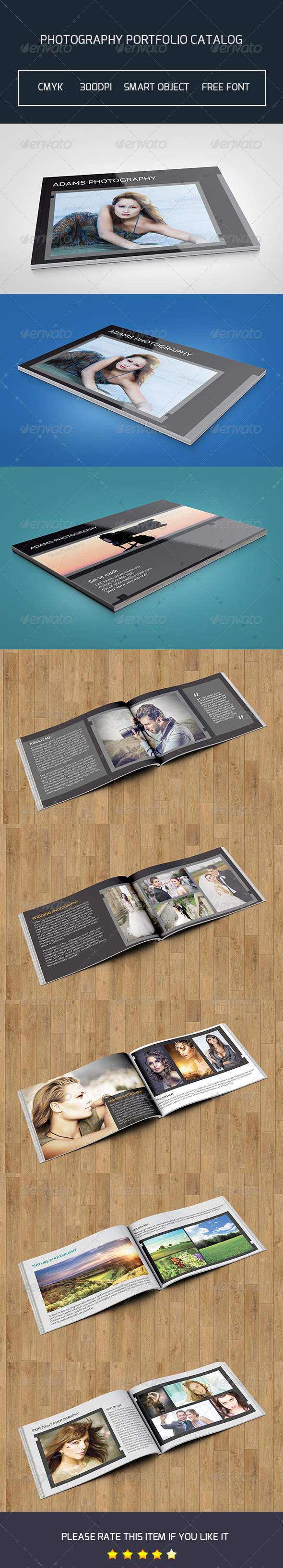 GraphicRiver Photography Catalog Template-V33 8520287
