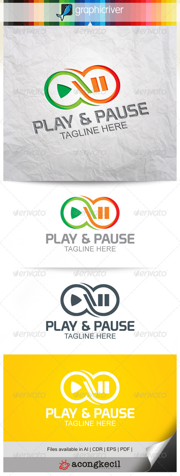GraphicRiver Play & Pause 8520320