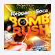 Reggae vs Soca Bomb Rush Party Flyer - GraphicRiver Item for Sale