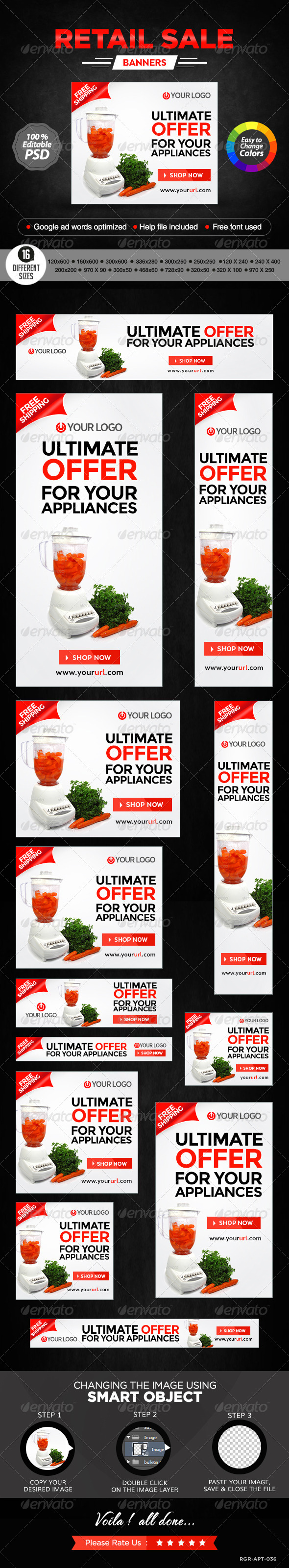 GraphicRiver E-Commerce Banners 8520436