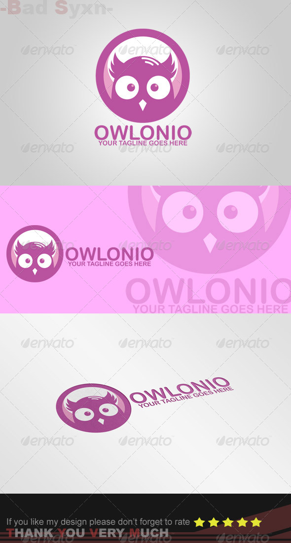 GraphicRiver Owlonio Logo Template 8520448