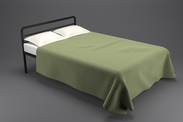 3DOcean Simple Bed 866681