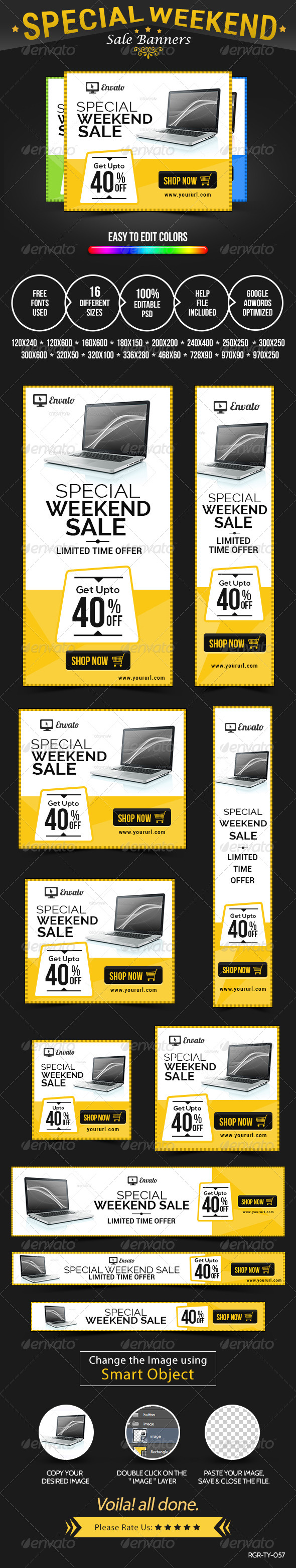 GraphicRiver Special Sale Banners 8520531