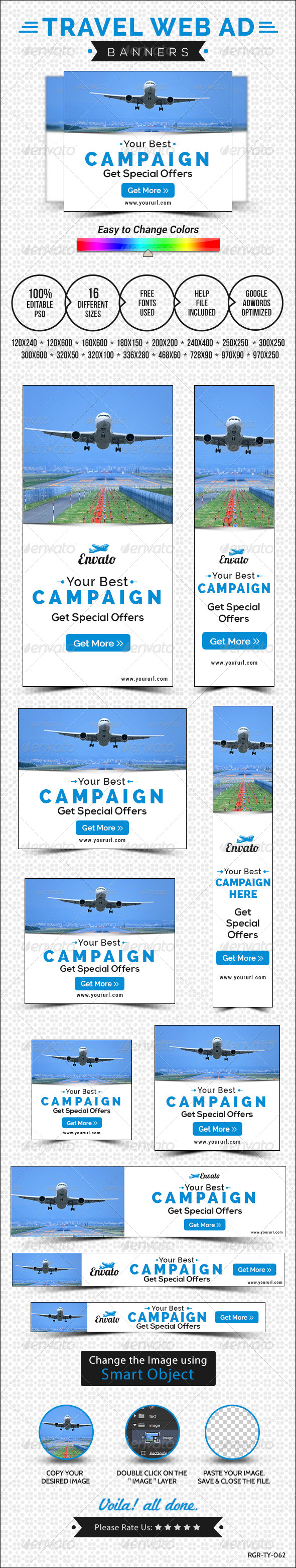 GraphicRiver Travel Banners 8520539