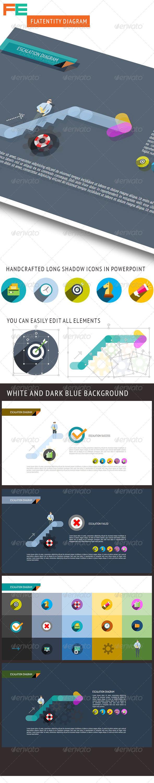 GraphicRiver Escalation Diagram 8520604