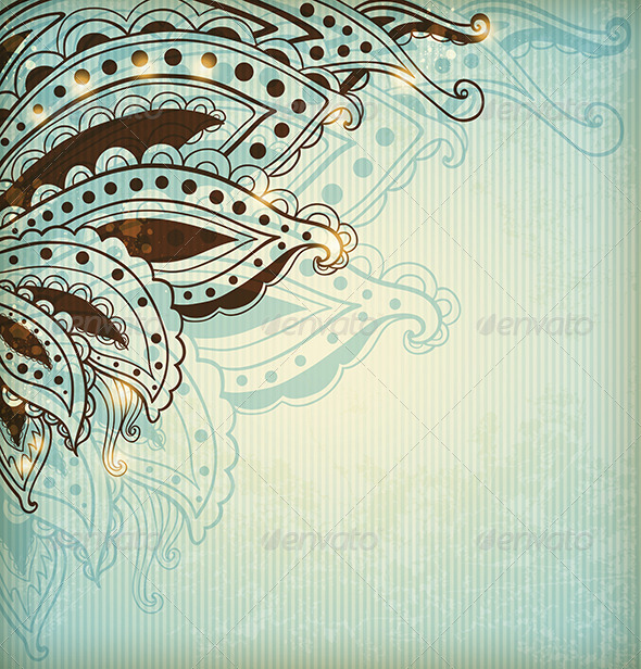 GraphicRiver Abstract Vintage Background 8518745