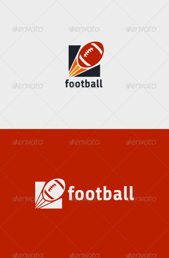 GraphicRiver Rugby Football Logo 8520628