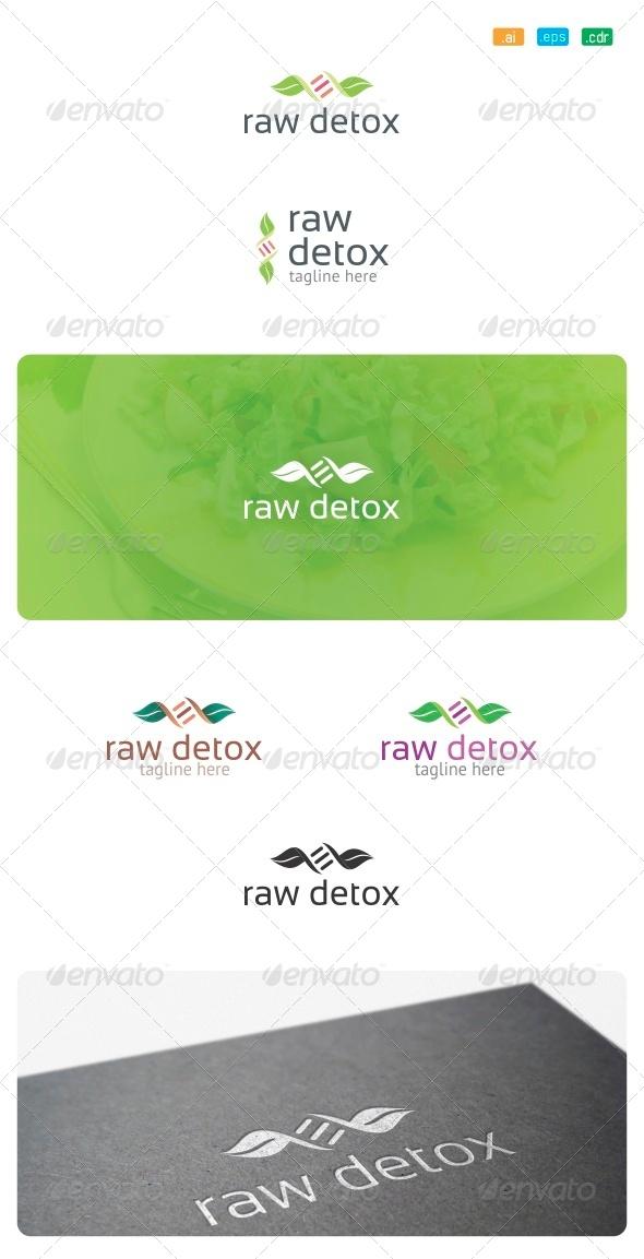 GraphicRiver Raw Detox Logo 8520641