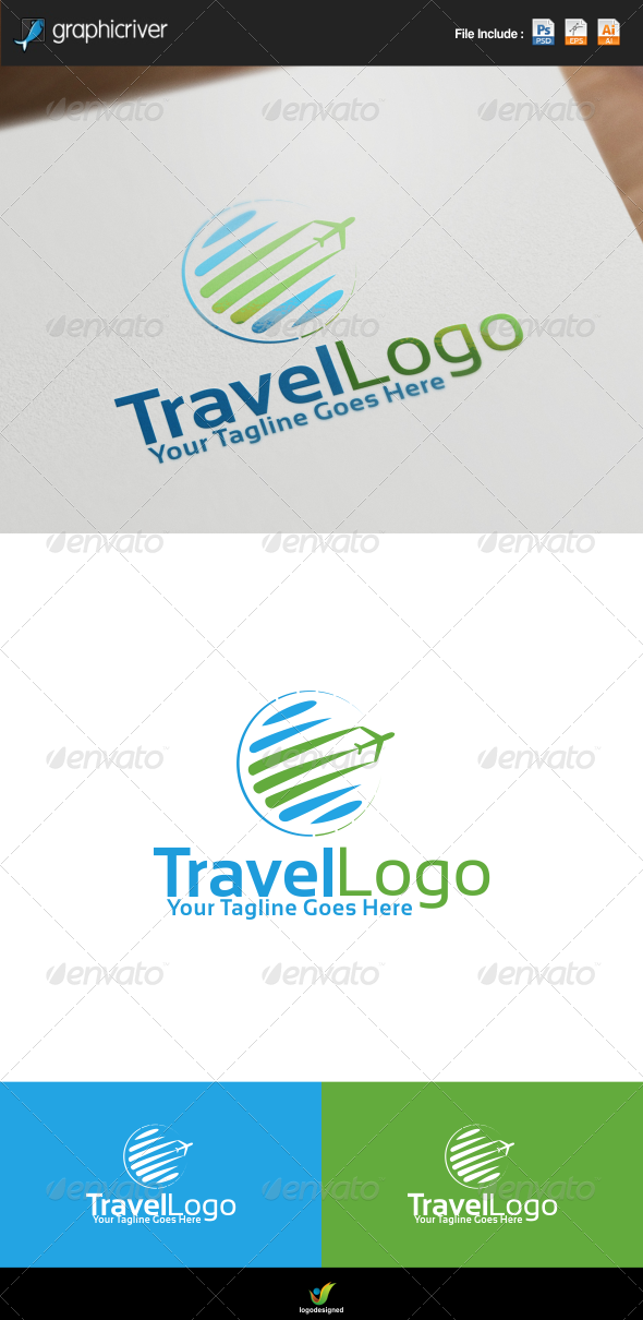 GraphicRiver Travel Agency Logo 8520664