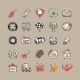 Doodle Cars Icons Set - GraphicRiver Item for Sale