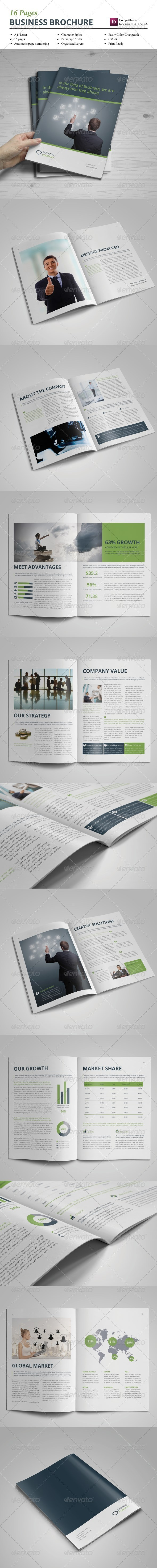 Brochure Template 16 pages Vol.1