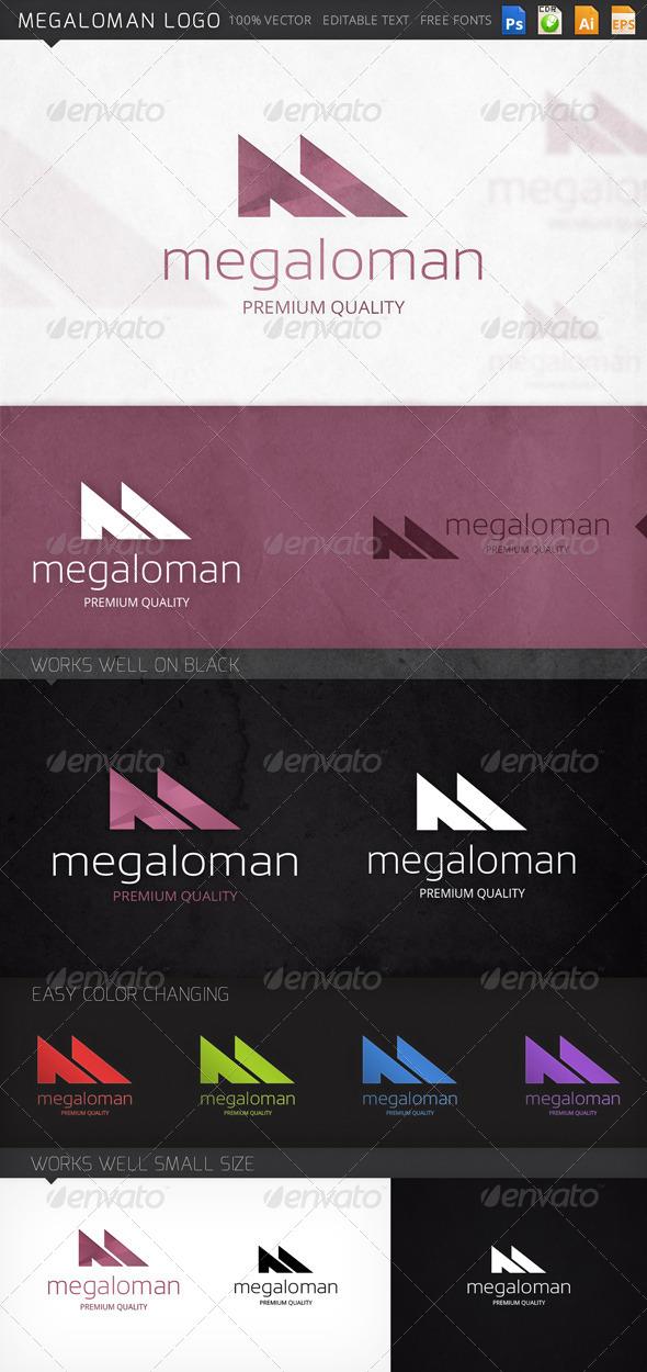 GraphicRiver Megaloman Logo 8520887