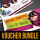3 in 1 Beauty and Spa Gift Voucher Bundle 02 - GraphicRiver Item for Sale
