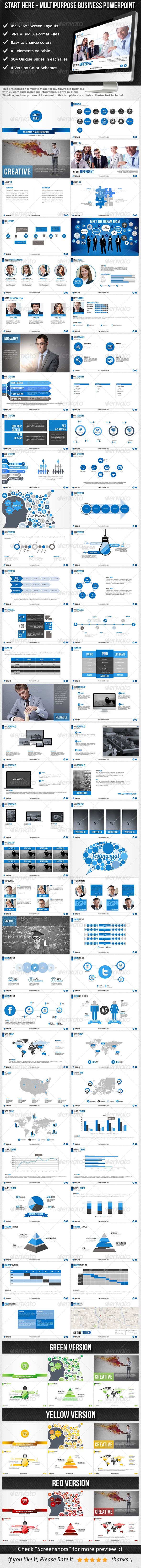 GraphicRiver Start Here Multipurpose Business Template 8515019