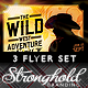 Wild West Flyer Template Set - GraphicRiver Item for Sale