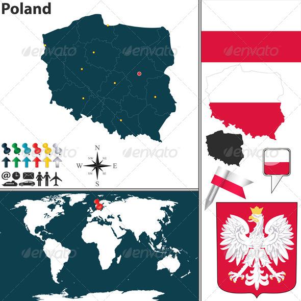 GraphicRiver Map of Poland 8521518
