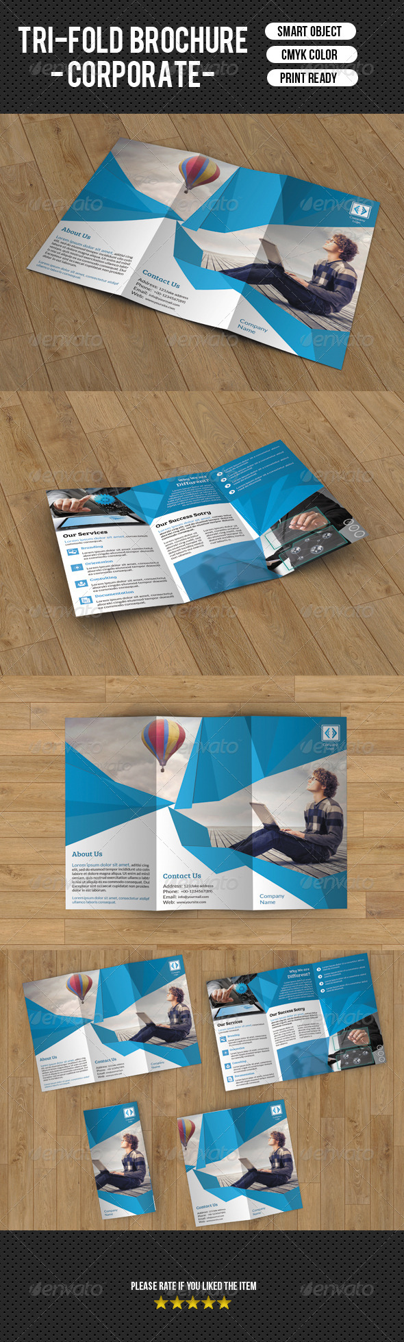 Trifold Business Brochure-V47