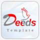 Deeds - Simple Nonprofit Church Website Template - ThemeForest Item for Sale