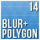 14 Polygon and Blur Backgrounds - GraphicRiver Item for Sale