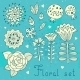 Floral Elements - GraphicRiver Item for Sale