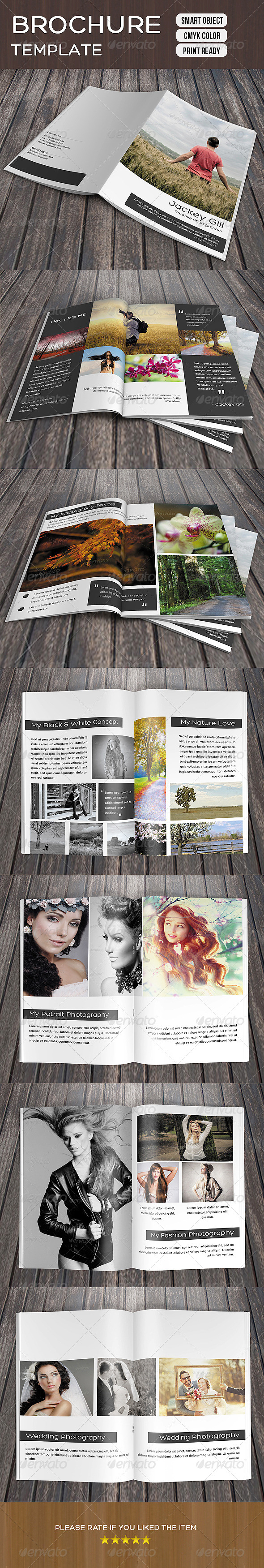 GraphicRiver Photography Portfolio Brochure 8521977