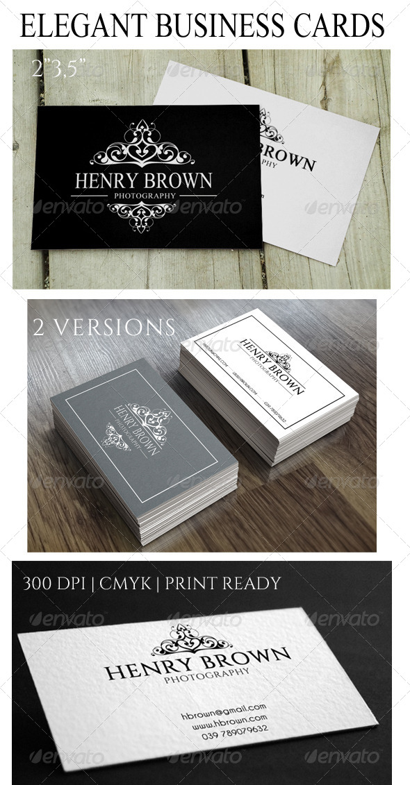 GraphicRiver Elegant Business Card 8522008