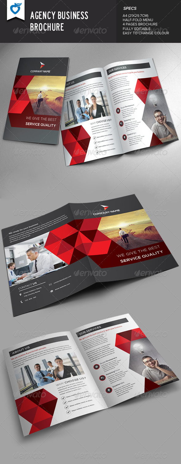GraphicRiver Agency Business Brochure 8522112