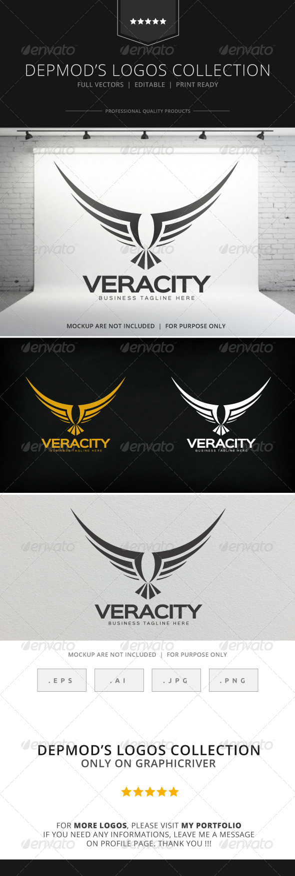 GraphicRiver Veracity Logo 8522133