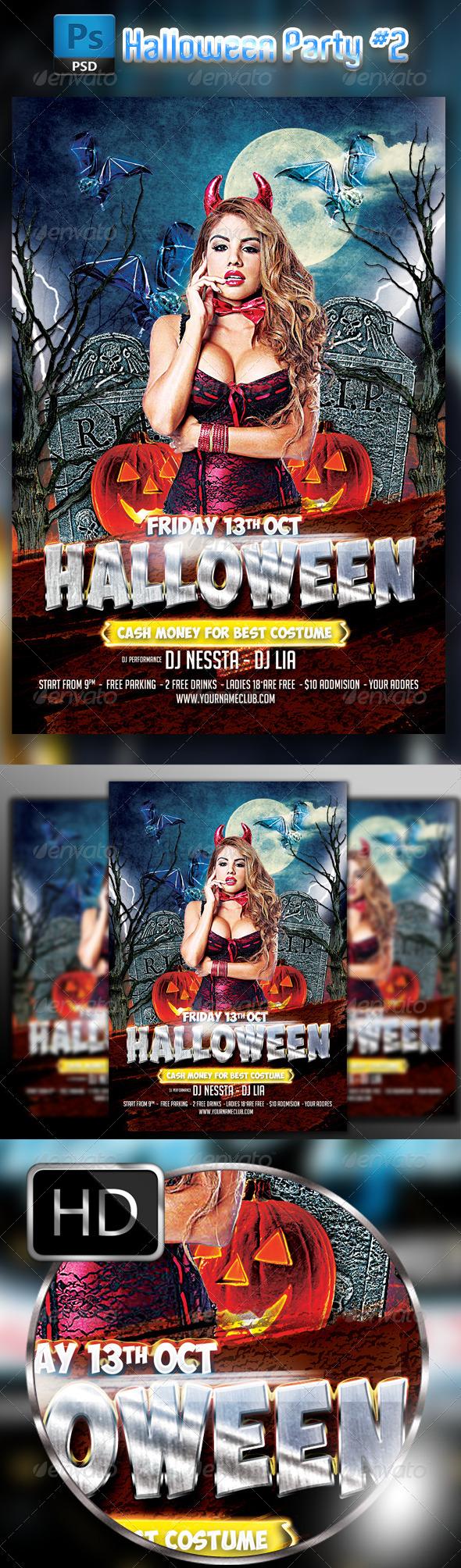 Halloween Party Flyer #2
