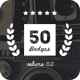 50 Retro Badges - GraphicRiver Item for Sale