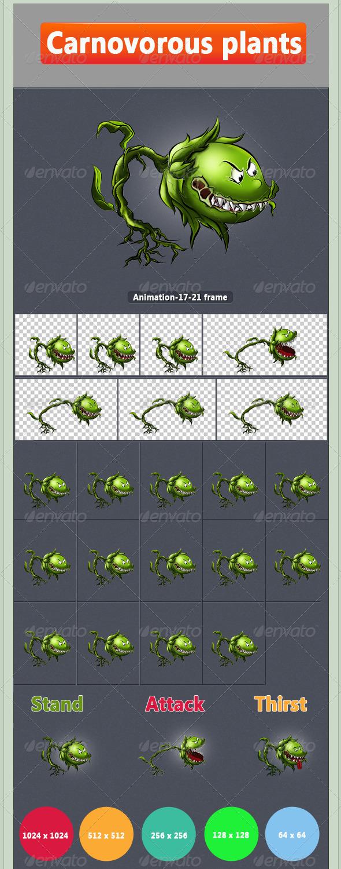 GraphicRiver Carnivorous Plant 8510881