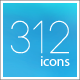 312 Line Icons - GraphicRiver Item for Sale