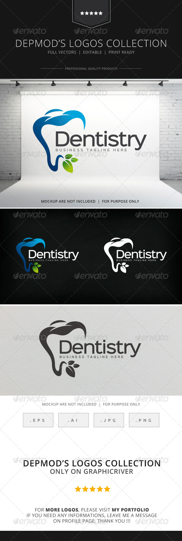 GraphicRiver Dentistry Logo 8522645