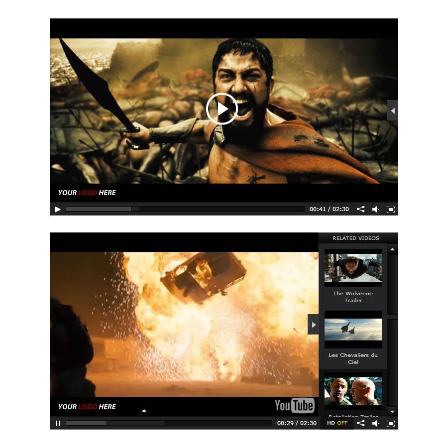 Jom Webplayer - A Joomla Video Gallery Extension - 3